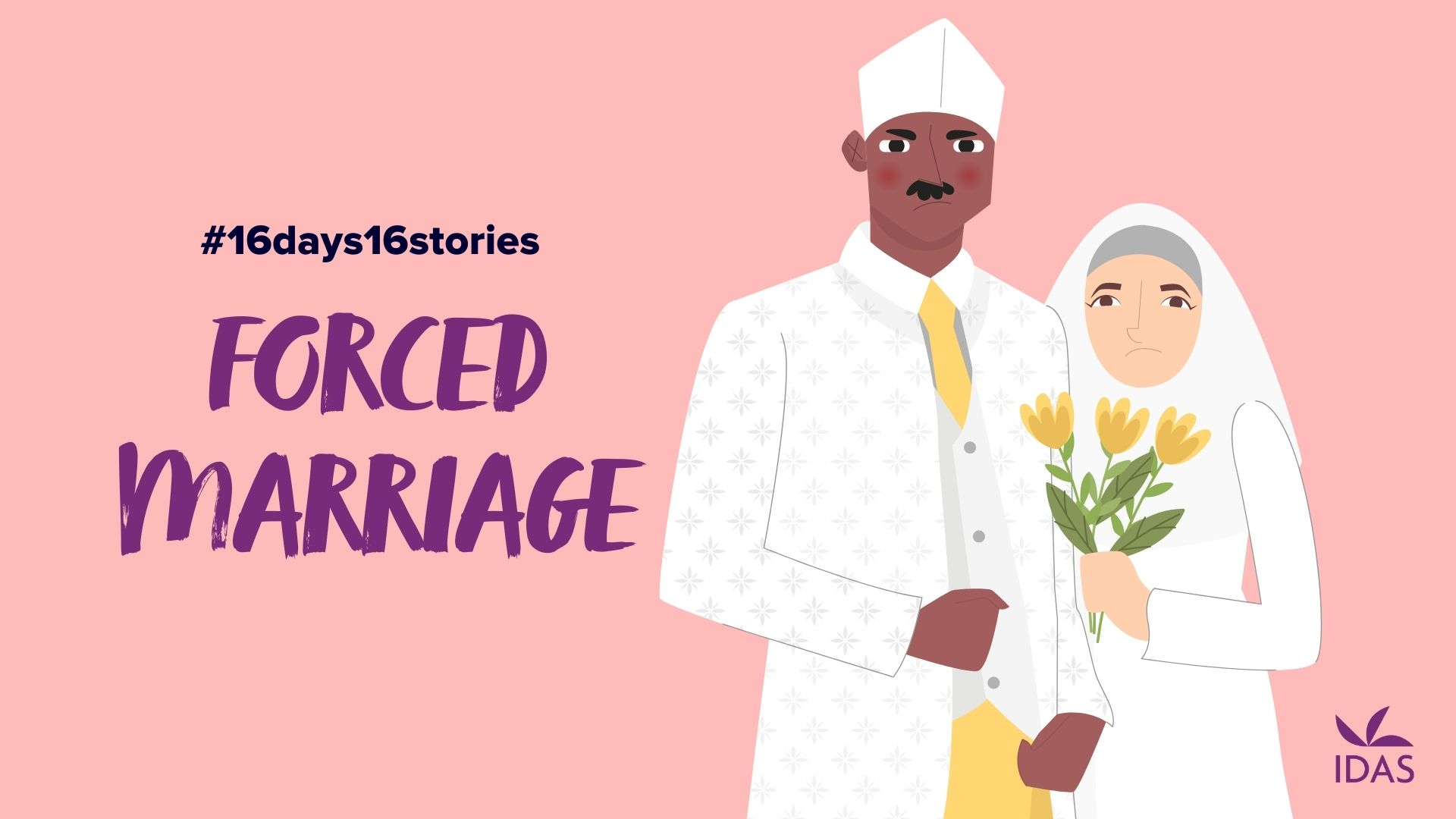 forced marriage - unhappy couple
