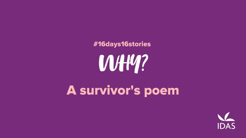 Why - A Survivor's Poem