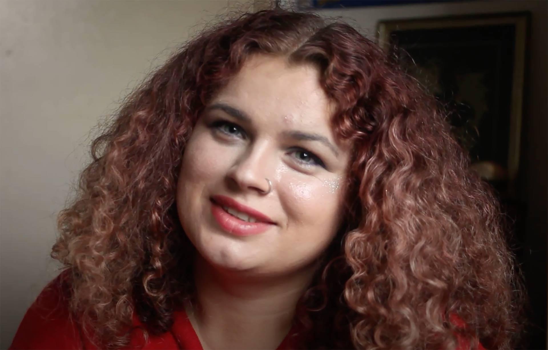 Young woman survivor